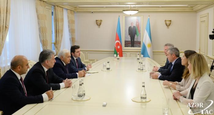 Speaker Asadov hails Azerbaijan-Argentina relations