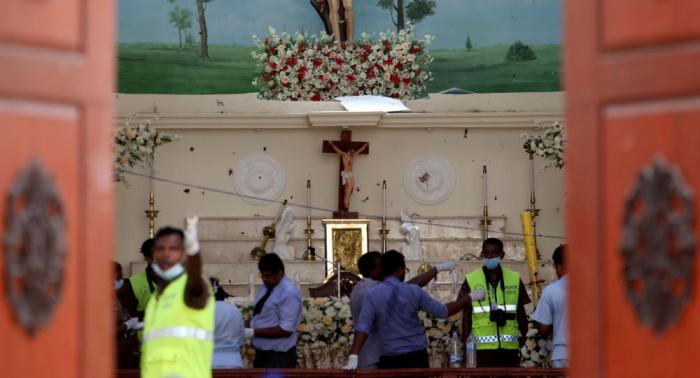 El 23 de abril será día de duelo en Sri Lanka por las víctimas de los ataques terroristas