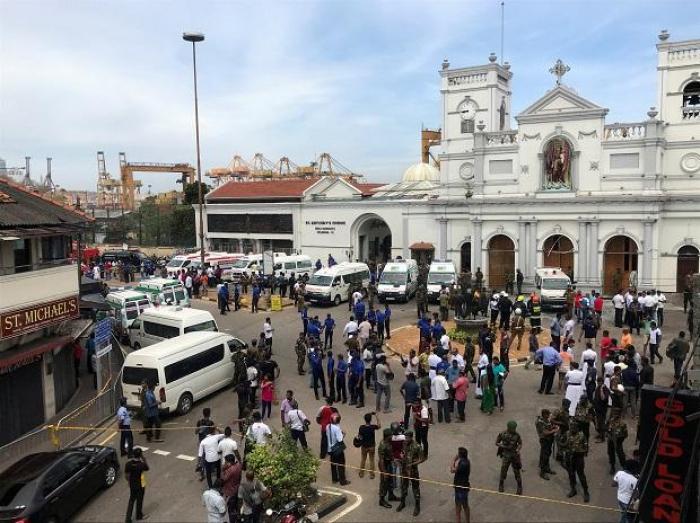 Islamic State claims attack on east coast city of Sri Lanka