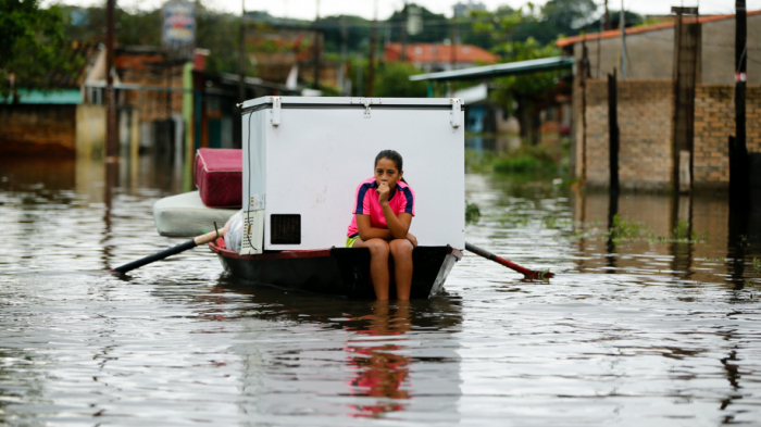 Storms kill 3 in Brazil; 20,000 evacuated in Paraguay