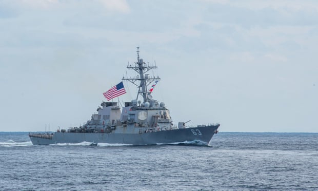 Two US warships sail through Taiwan Strait in challenge to China