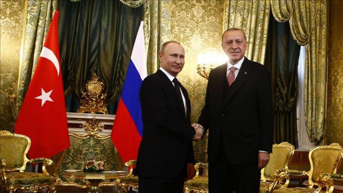 """Erdogan: """"Notre action solidaire avec la Russie contre le terrorisme est très importante"""""""