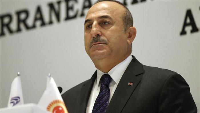 Cavusoglu appelle Israël à adopter une solution à deux Etats