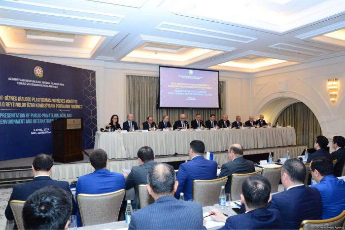Presentation of State-Business Dialogue Platform underway in Baku
