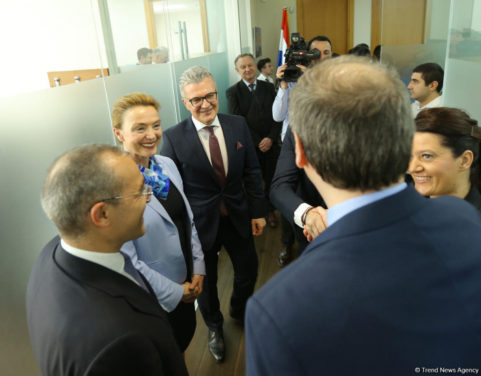 Opening of Croatian embassy in Baku to further develop co-op between countries