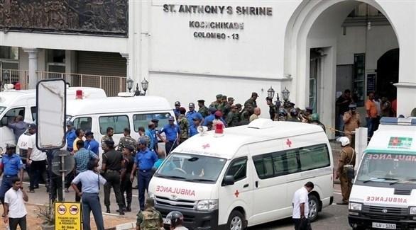 ارتفاع حصيلة ضحايا تفجيرات سريلانكا الى 310 قتلى