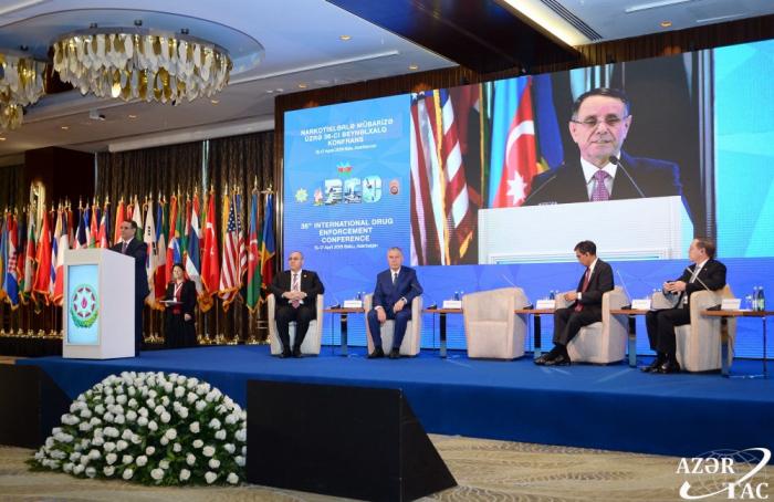 36. Internationale Konferenz für Rauschgiftbekämpfung hat in Baku ihre Arbeit begonnen