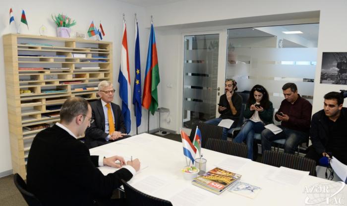 Les Pays-Bas soutiennent le règlement pacifique du conflit du Haut-Karabagh