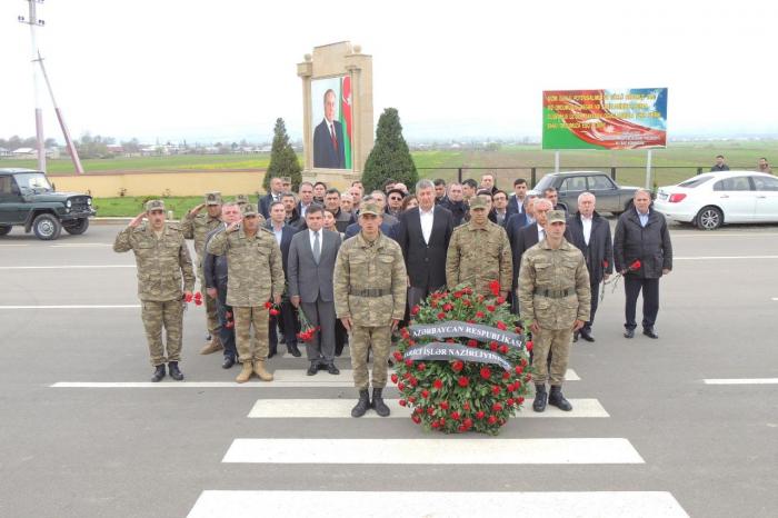 Azerbaijani deputy FMs visit Jojug Marjanli village