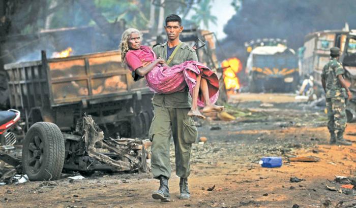 Şri-Lankadakı terroru İŞİD üzərinə götürdü