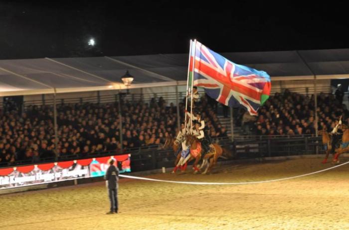 Karabakh horses perform at Royal Windsor Horse Show in London -  PHOTOS, VIDEO