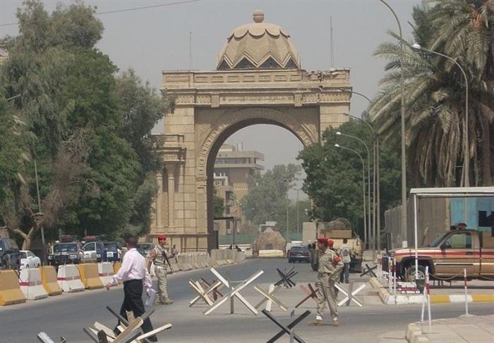 Rocket fired into Iraqi capital