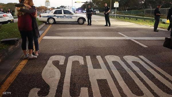 السيطرة على طالب مسلّح داخل مدرسة بالولايات المتحدة