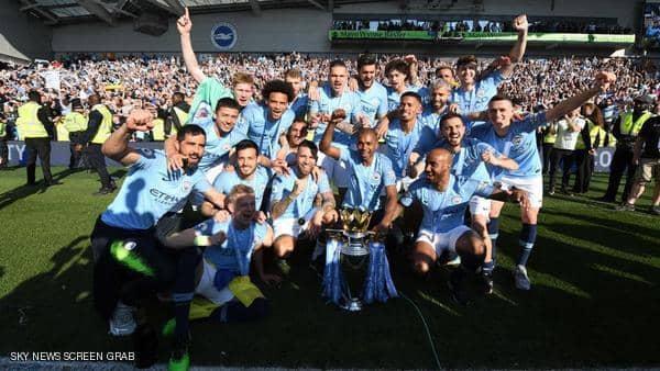 السيتي على أعتاب إنجاز غير مسبوق في تاريخ الكرة الإنجليزية