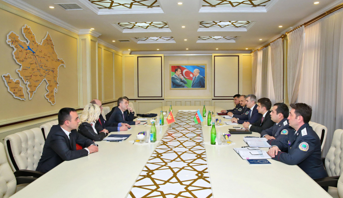 Chief of State Migration Service meets Minister of Internal Affairs of Montenegro -  PHOTOS
