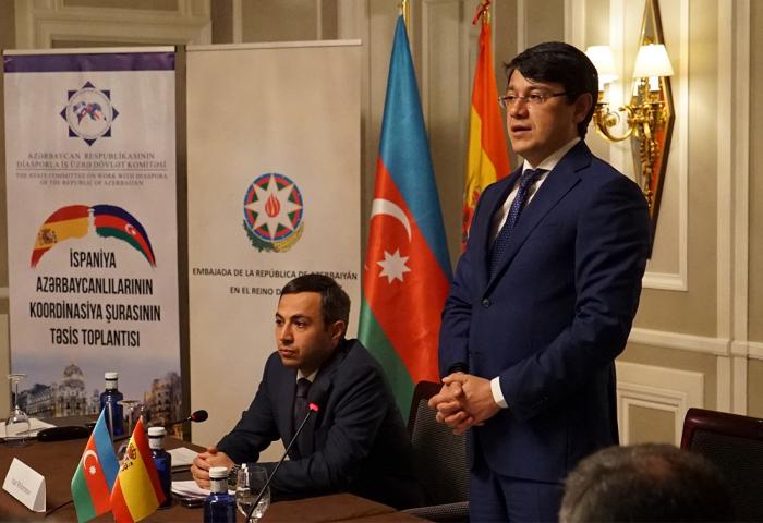 İspaniya Azərbaycanlıları Koordinasiya Şurası yaradıldı