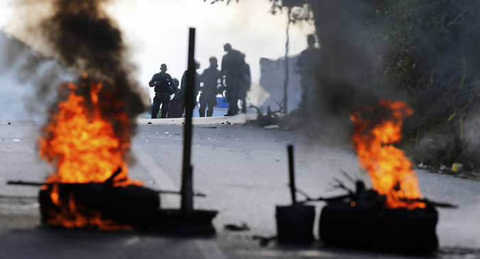 Two people killed   during protests in Venezuela