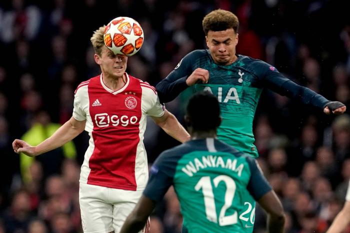 Tottenham comeback stuns Ajax and sets up final against Liverpool