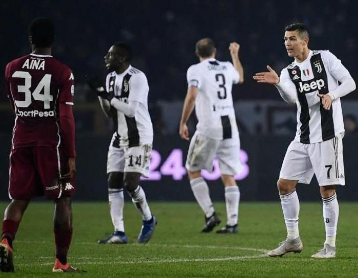 """Ronaldo """"Yuventus""""u son anda xilas etdi"""