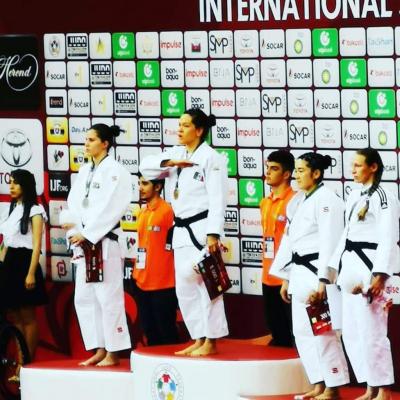 Mexicana gana oro en Mundial de judo en Bakú