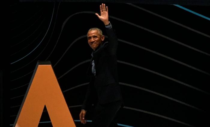 Brésil: Obama rencontre Pelé à Sao Paulo