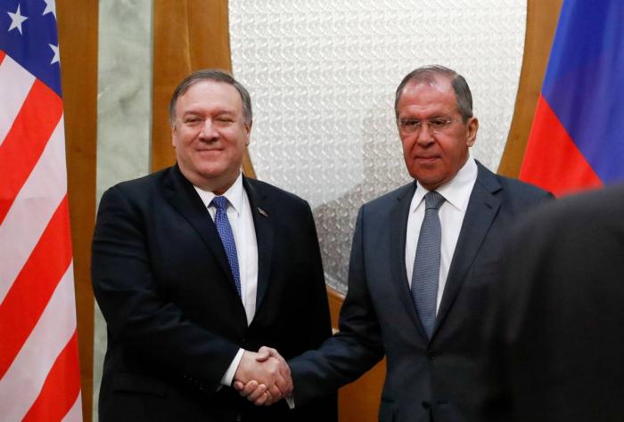 """Lavrov appelle Pompeo à des relations """"plus responsables"""" entre Moscou et Washington"""