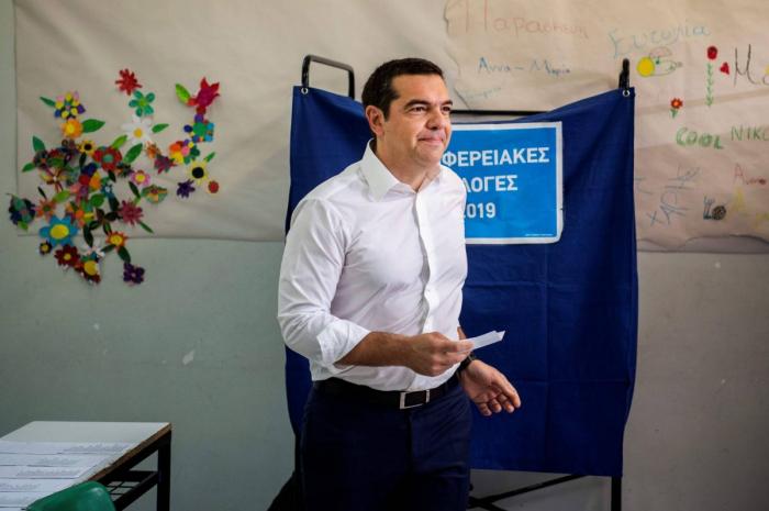Grèce: la gauche de Tsipras sanctionnée (sondages sortis des urnes)