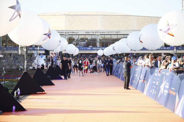 FOTOS:   Así fue la Alfombra Naranja y la Ceremonia de Bienvenida de Eurovisión 2019