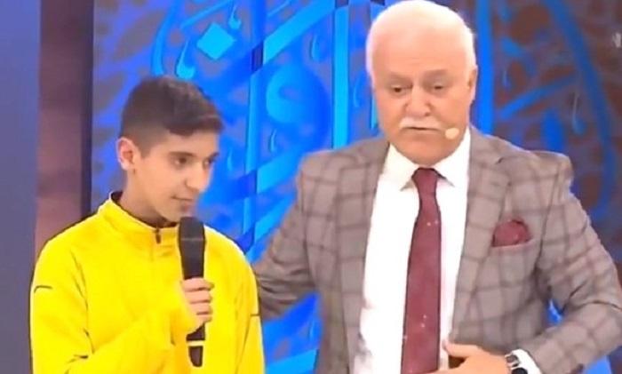 13 yaşlı erməni canlı yayımda müsəlman oldu - VİDEO