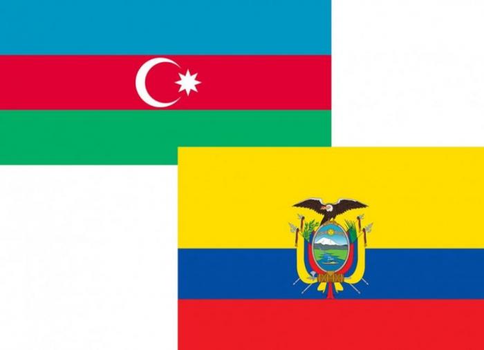 Azərbaycan-Ekvador əlaqələri müzakirə olunub