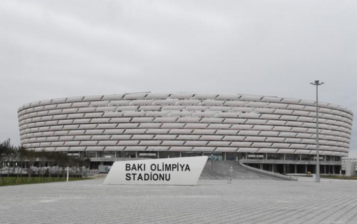 """Bakı Olimpiya Stadionuna """"5 ulduz"""" verildi"""