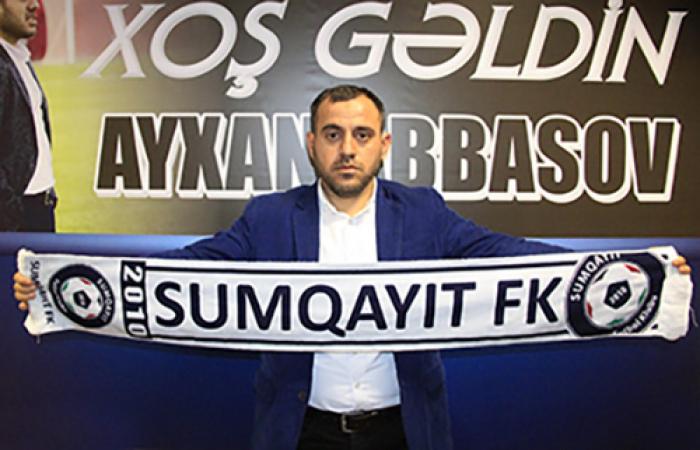 """Ayxan Abbasov """"Sumqayıt""""dan ayrılır"""