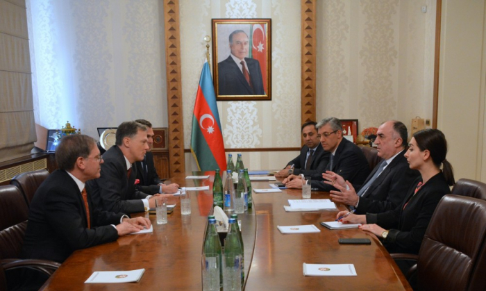 Azerbaijan, US discuss bilateral relations