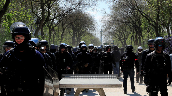 Paris police brace for May 1 rallies