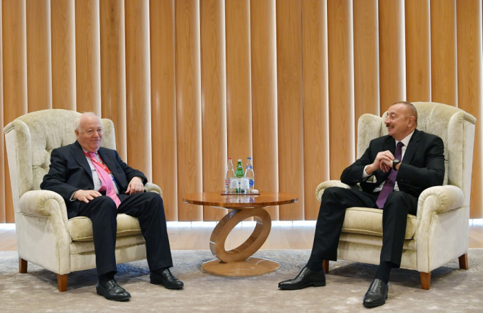 President Aliyev meets with UN High Representative - UPDATED