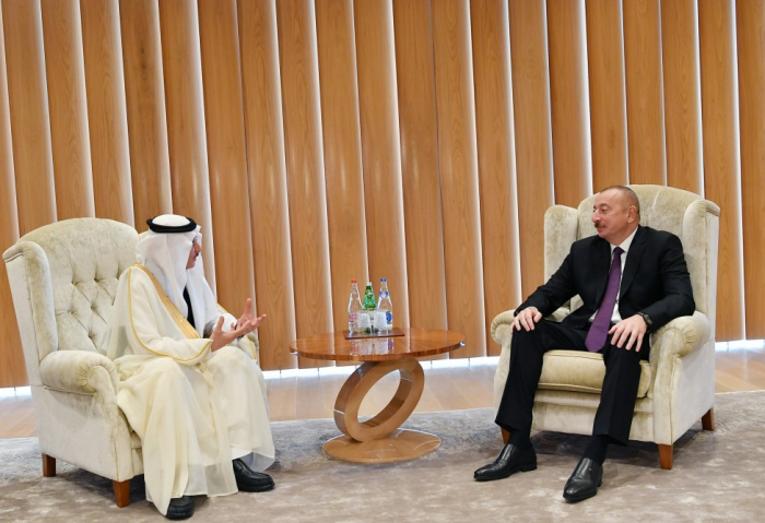 President Ilham Aliyev receivesSecretary General of OIC -  UPDATED
