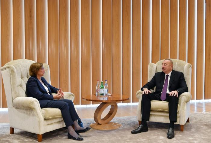 President Ilham Aliyev receivesDeputy Secretary General of the CoE -  UPDATED