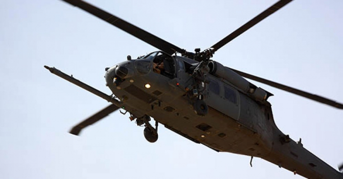 Venesuelada hərbi helikopter qəzaya uğrayıb