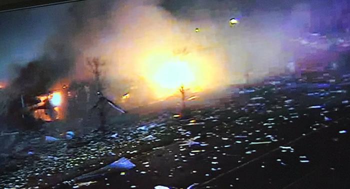 """Una """"explosión catastrófica"""" sacude una ciudad a las afueras de Chicago"""