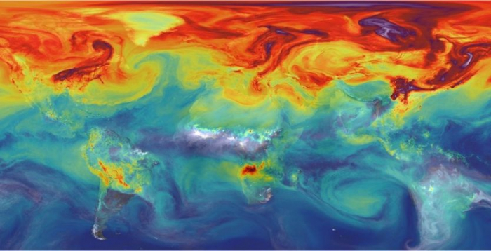Nasa     instrument heads to space station to map CO2