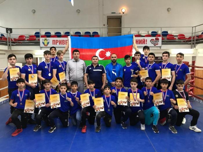 Boksçularımız Rusiyada 10 qızıl medal qazanıb