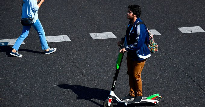 Madrid is trying out E-Scooters in its quest to beat traffic