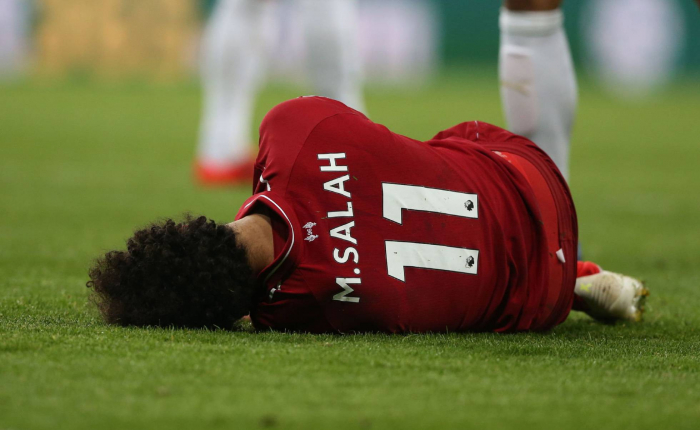 Salah no podrá jugar contra el Barcelona