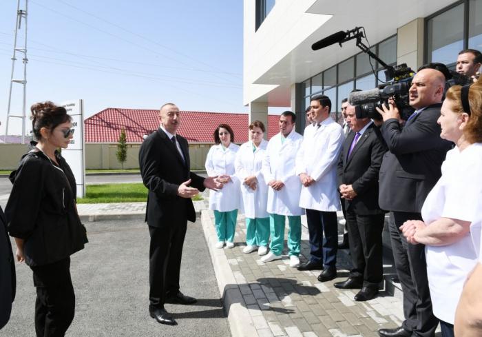 """""""Siyasətimizin mərkəzində Azərbaycan vətəndaşı dayanır"""" - Prezident"""