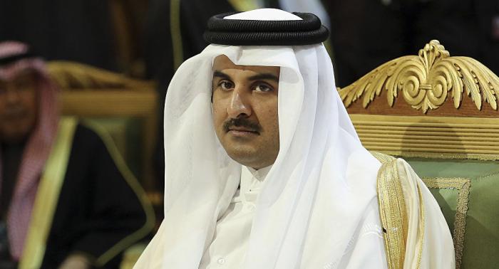 Emir de Catar envía a Palestina $480 millones en medio de tensiones en la Franja de Gaza
