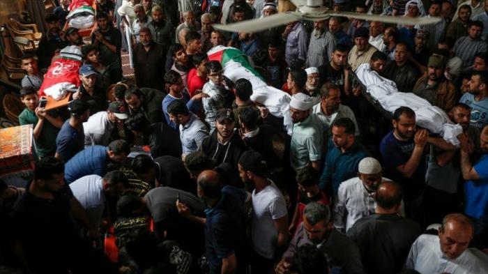Asciende a     27     la cifra de palestinos muertos en ataques de Israel