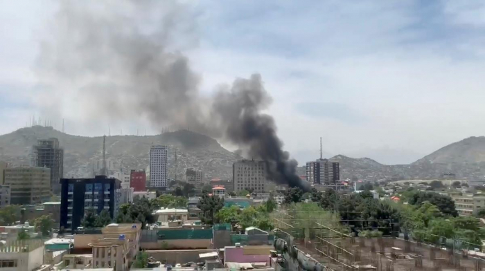Explosion shakes Afghan capital, no word on casualties