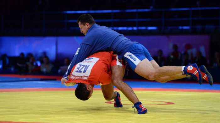 Seven Azerbaijani sambo wrestlers to contest medals at 2nd European Games