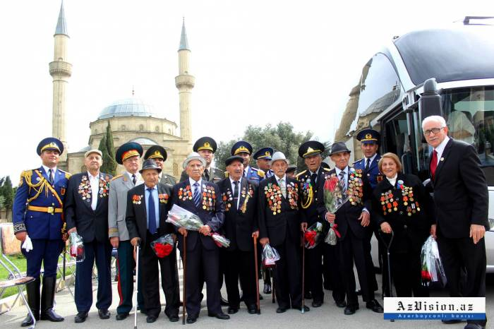 Azerbaijan celebrates Victory Day in Great Patriotic War - PHOTOS
