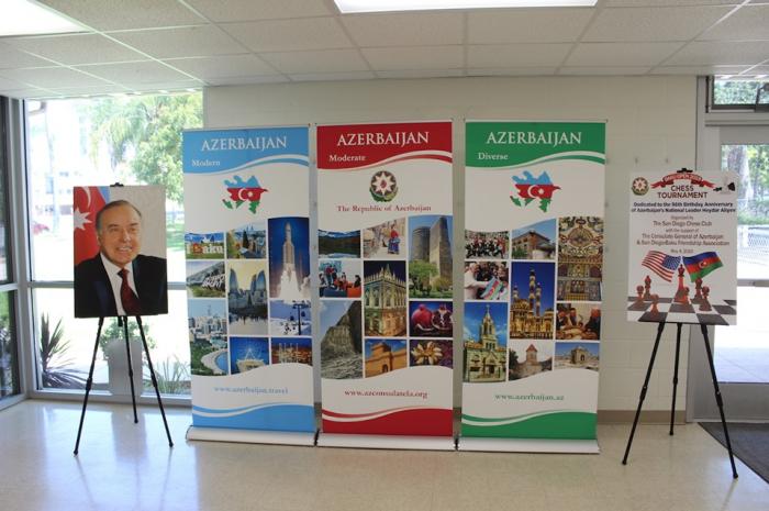 Chess tournament dedicated to 96th birth anniversary of Azerbaijani national leader Heydar Aliyev held in San Diego